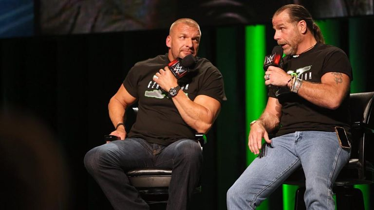 Triple H believes his old friend Shawn Michaels' desire to return to wrestling has been influenced by WWE's new generation of young stars