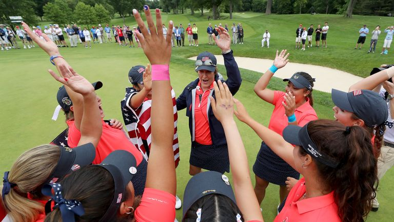 United States complete record win over GB and Ireland in Curtis Cup