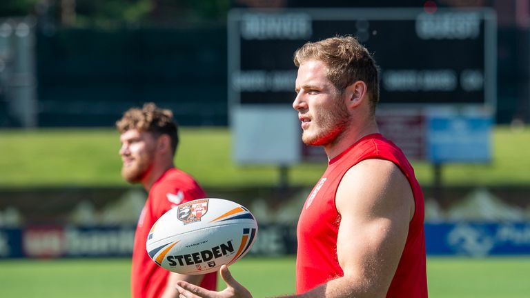 Tom Burgess is confident England can handle the effects of altitude