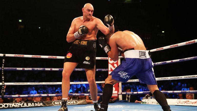 Tyson Fury will continue his comeback next month