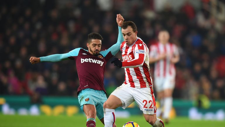 Xherdan Shaqiri and Manuel Lanzini are two of the shortest players at the 2018 World Cup