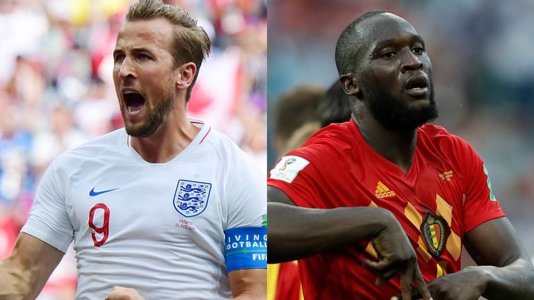 Harry Kane and Romelu Lukaku are in prolific form at the World Cup