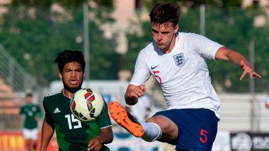 fifa live scores - Mexico U21s 1-2 England U21s: Young Lions claim Toulon Tournament hat-trick