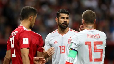 fifa live scores -                               Costa, Isco key for Spain
