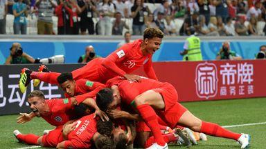 fifa live scores -                               WATCH: School's viral England anthem
