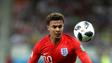 fifa live scores -                               Alli working towards full fitness