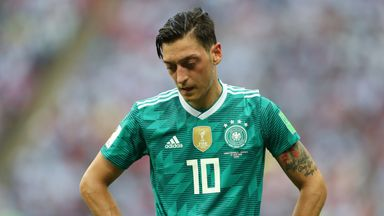 Mesut Ozil retired after Germany were knocked out of the World Cup