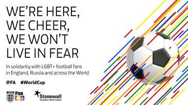 fifa live scores -                               FA asks fans to share solidarity message