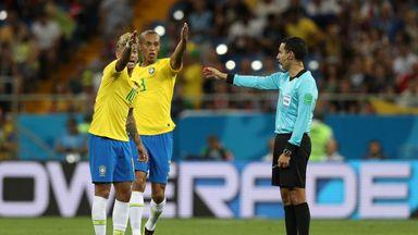 fifa live scores -                               Brazil complain to FIFA over VAR