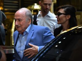 Sepp Blatter is expected to attend Portugal's game with Morocco on Wednesday