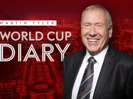 Martin Tyler brings you the last extract from his World Cup diary