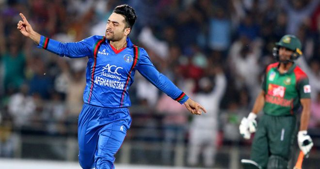 Rashid Khan was taken for over 100 runs in Bengaluru