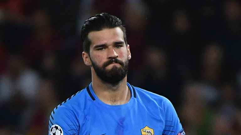 Liverpool paid Roma £67m to make Alisson the worl'd most expensive goalkeeper