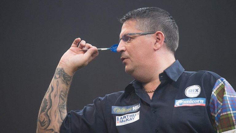 Gary Anderson defeated world champion Rob Cross in the final - Credit: Tom Donoghue/PDC