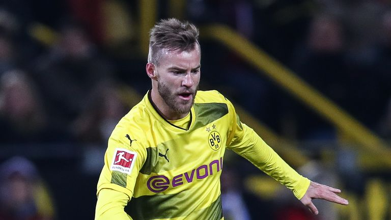 Dortmund winger Andriy Yarmolenko is on the verge of joining West Ham