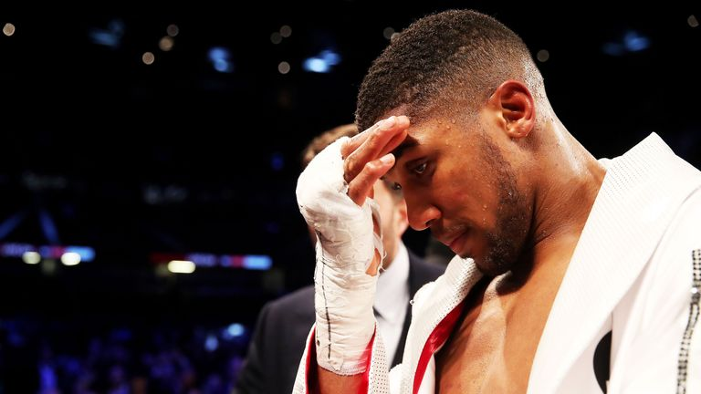 Anthony Joshua must focus his mind on next opponent Alexander Povetkin