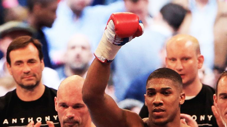 Legg retired from professional boxing after the Joshua fight