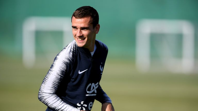 Antoine Griezmann is not concerned about France's style of play