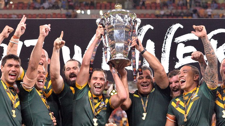 Australia defeated England in the 2017 Rugby League World Cup final