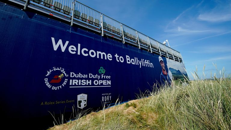 Latest from the Irish Open Golf Championship at Ballyliffin