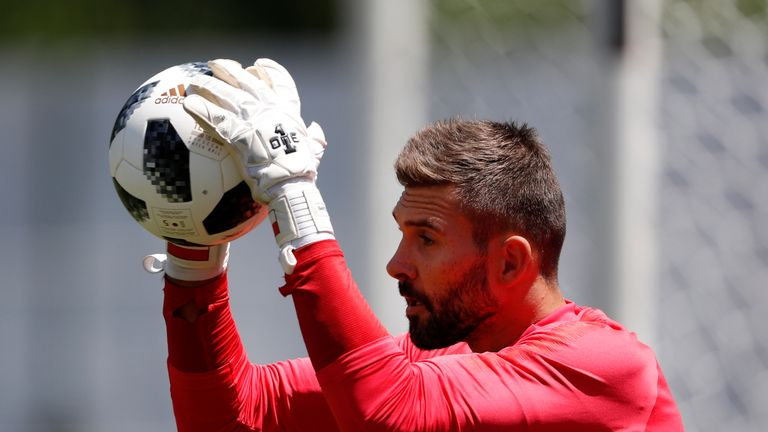 Bartosz Bialkowski was part of Poland's World Cup squad