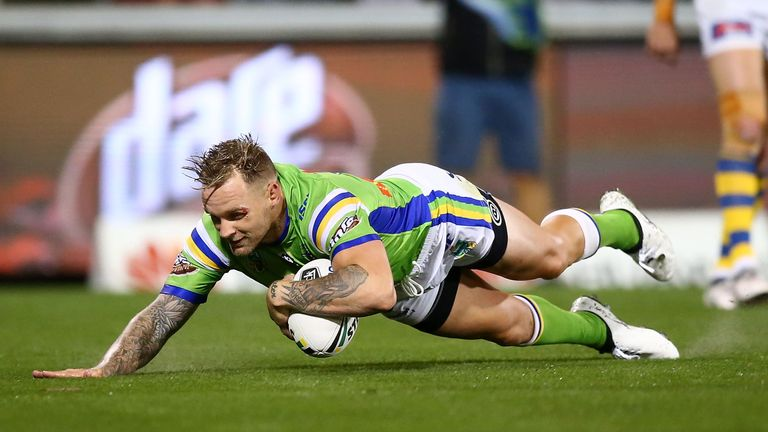 Austin has scored 42 tries in 114 appearances in the National Rugby League