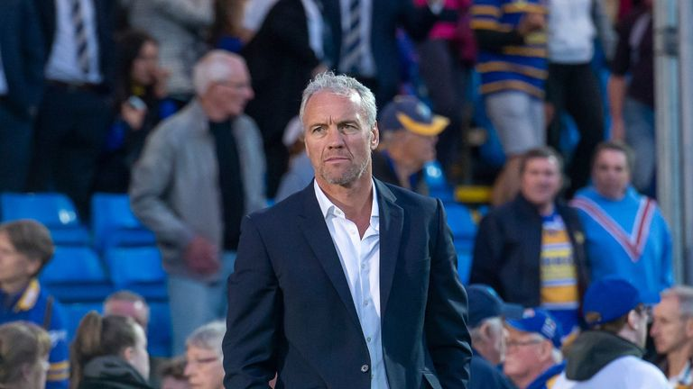 McDermott was relieved of his duties as Rhinos head coach on Monday