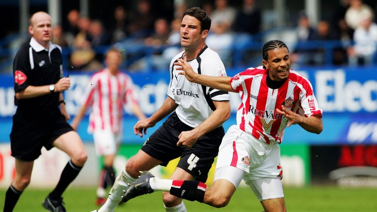 Carlos Edwards moved from relegation-bound Luton to promotion-chasing Sunderland mid-season in 2006/07