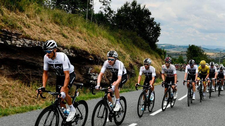 Sky rider Moscon expelled from Tour de France for hitting rival