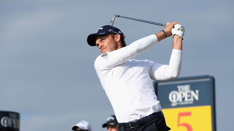 South African debutant Erik van Rooyen is early pace-setter at Open Championship