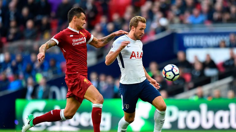 Dejan Lovren and Harry Kane could be a key battle on Wednesday says Jamie Redknapp