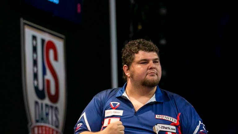 Dennis Sayre will be hoping to clinch a trip to Ally Pally