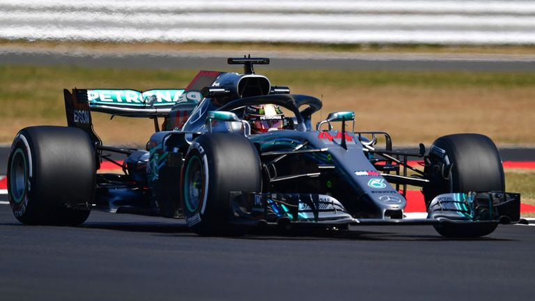British Grand Prix: Unhappy Lewis Hamilton points fin.. 'interesting tactics' after finishing second in race