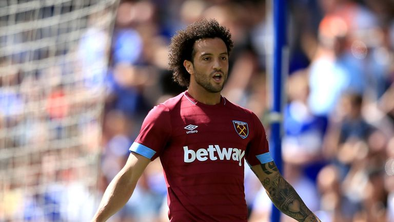 Felipe Anderson has become West Ham United's club record signing