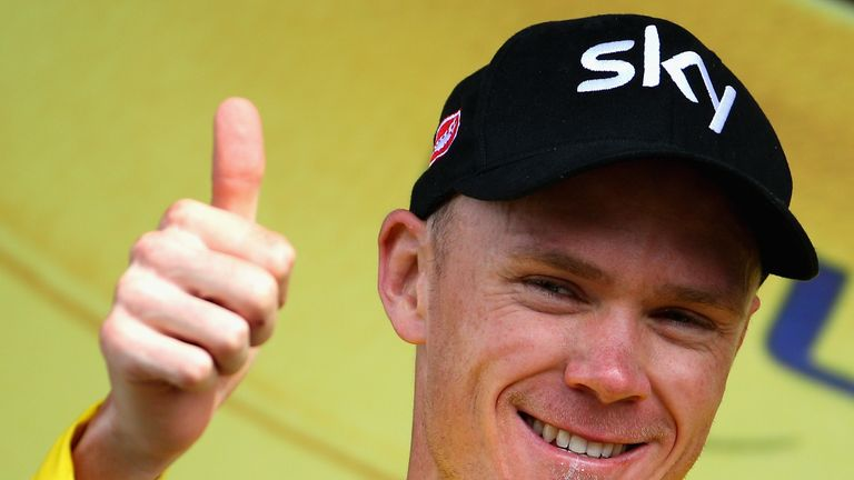 Chris Froome was cleared of any wrongdoing following a UCI investigation