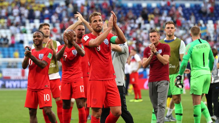 England have made their first World Cup semi-final in 28 years