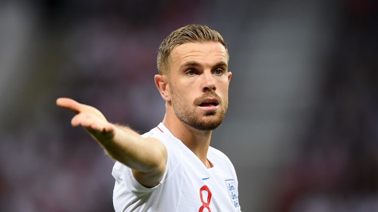 Jordan Henderson (pictured) and Kyle Walker are also a doubt