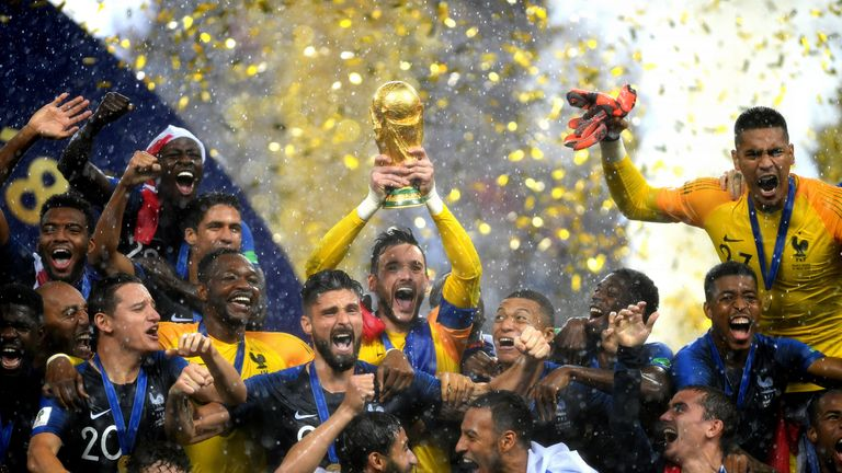 France 4-2 Croatia: Paul Pogba and Kylian Mbappe star in World Cup win