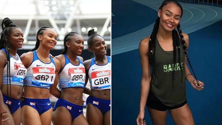 Imani Lansiqot will run in the relay and individual 100m in Germany