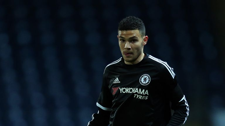 Isaac Christie-Davies came through the youth ranks at Chelsea