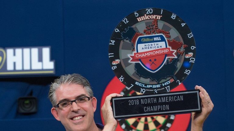 Jeff Smith claimed the North American Championship and with it a place at the World Darts Championship at the end of the year