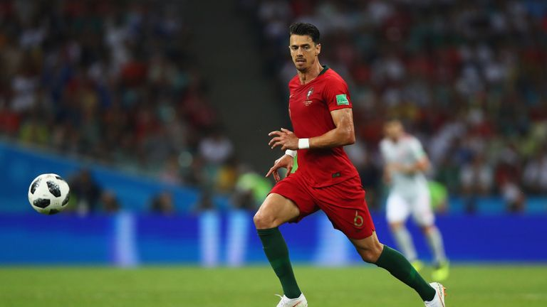 Portugal defender Jose Fonte is a free agent