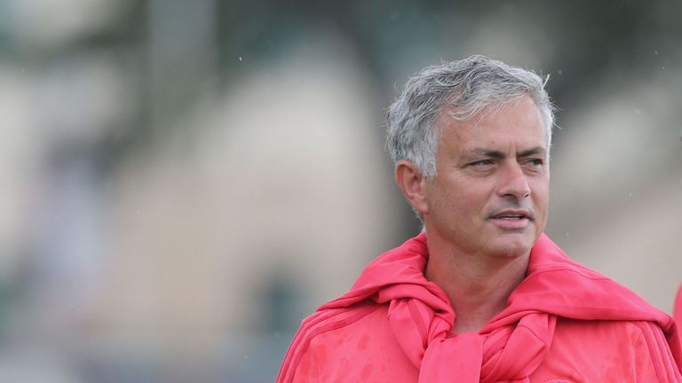 Mourinho has cut a frustrated figure in the US