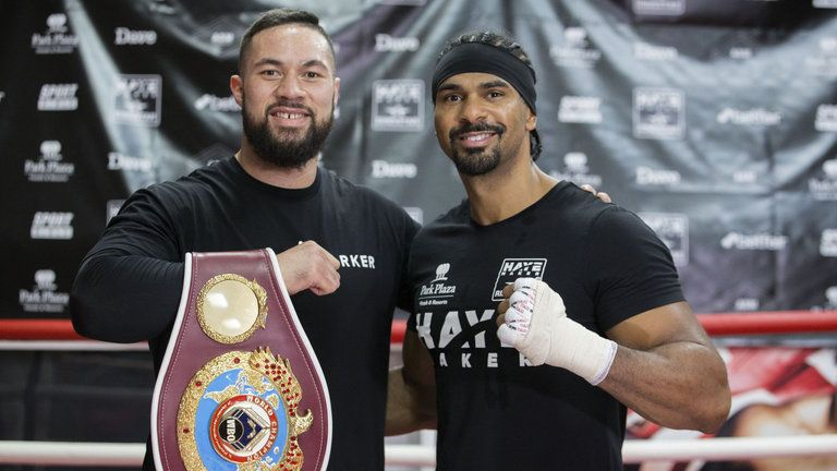 David Haye is set to help Joseph Parker's preparations for Dillian Whyte