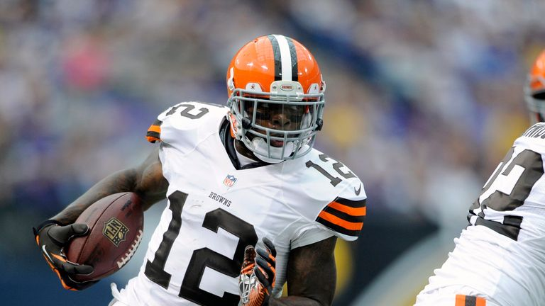 Cleveland's Josh Gordon was selected in the 2012 supplemental draft