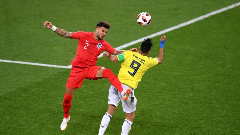 Colombian fans take heart-breaking loss to England in their stride