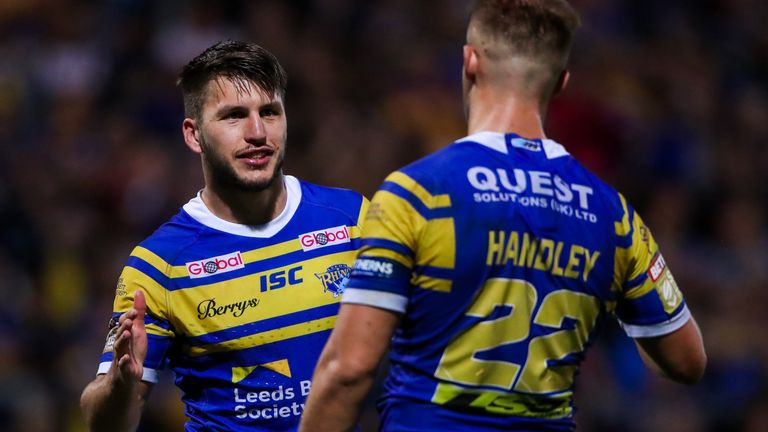 Leeds showed a glimpse of what might lie ahead in the Qualifiers with a ruthless 34-0 win over Widnes