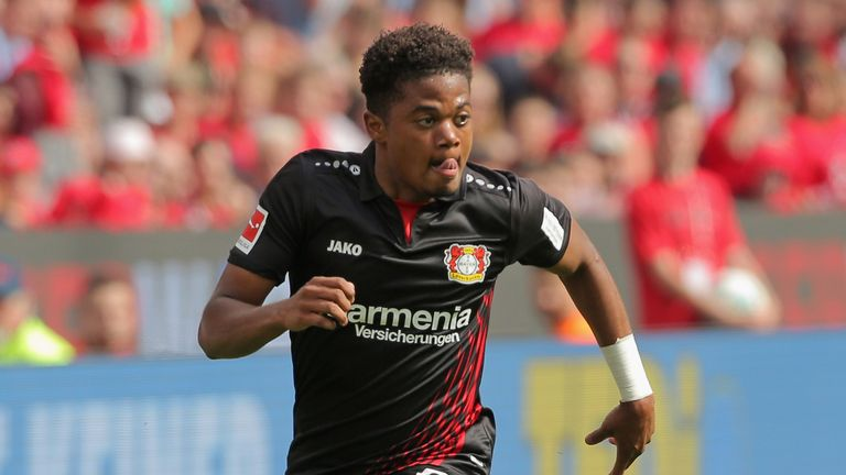 Leon Bailey has spent just one season at Bayer Leverkusen