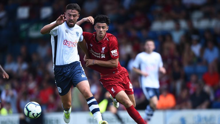 Liverpool were held to a goalless draw by Bury in their third pre-season game