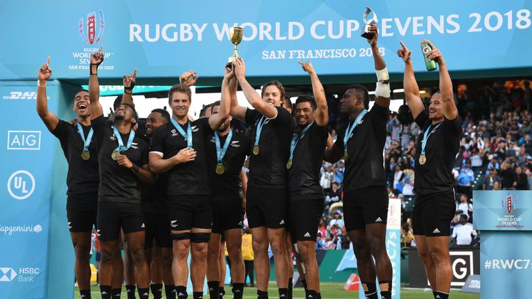 England beaten by New Zealand in World Cup Sevens final
